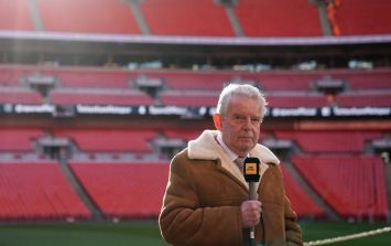 People are sharing a lot of love for John Motson following his last commentary game