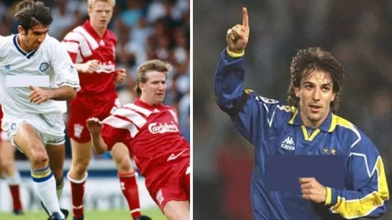 QUIZ  Can you guess the football shirt sponsors of these classic 90s kits  dd5c613a7dbe4