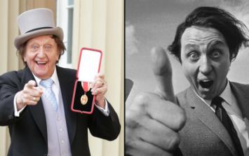 Comedian Ken Dodd has died aged 90