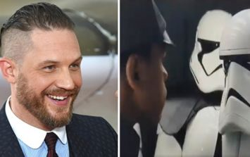 Here's Tom Hardy's deleted scene in Star Wars and lots of other brand new footage that's leaked