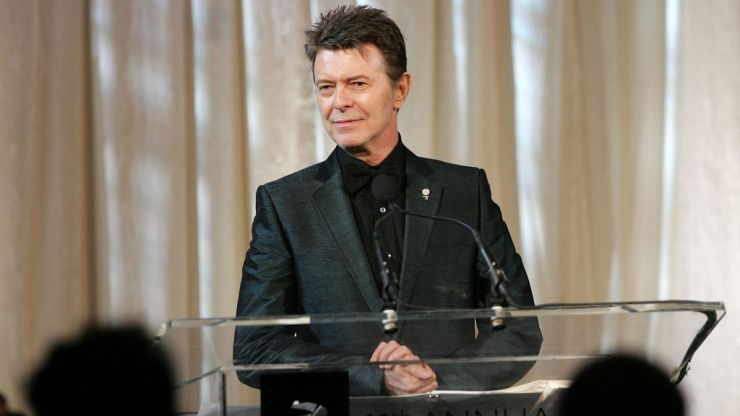 David Bowie named as greatest entertainer of the 20th century