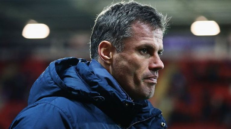 Driver in Jamie Carragher spitting incident has been contacted by police