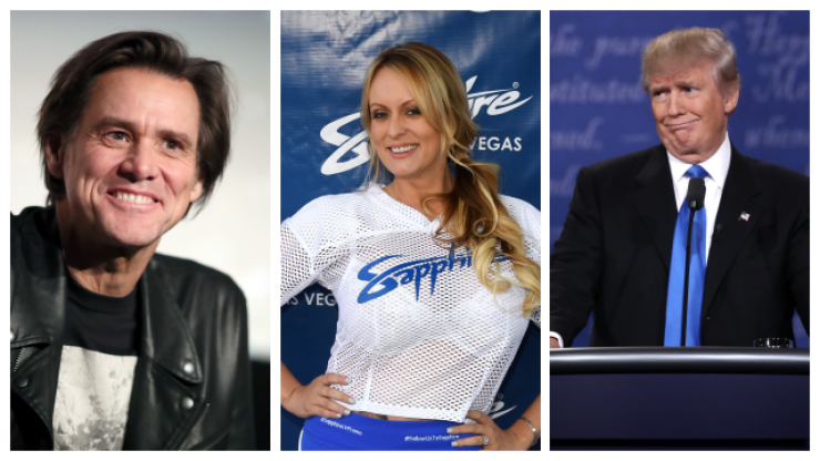 Jim Carrey's painting of Donald Trump and Stormy Daniels having sex will forever be scorched on to your brain