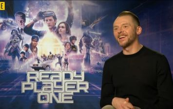 Simon Pegg chats about Ready Player One, working with Spielberg, and that OTHER Simon Pegg