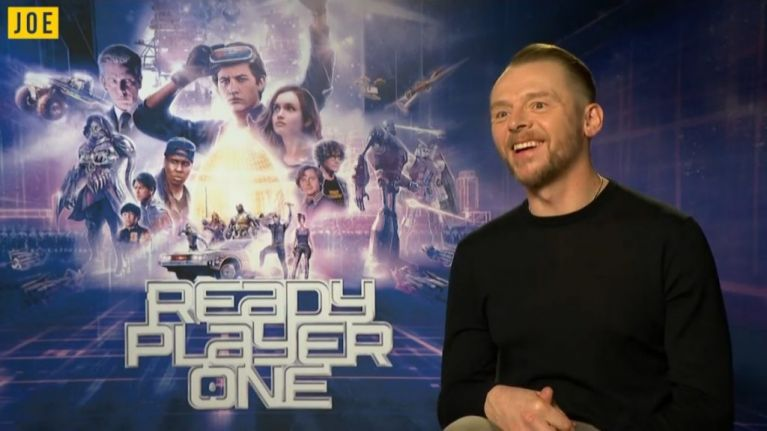 Simon Pegg chats about Ready Player One, working with
