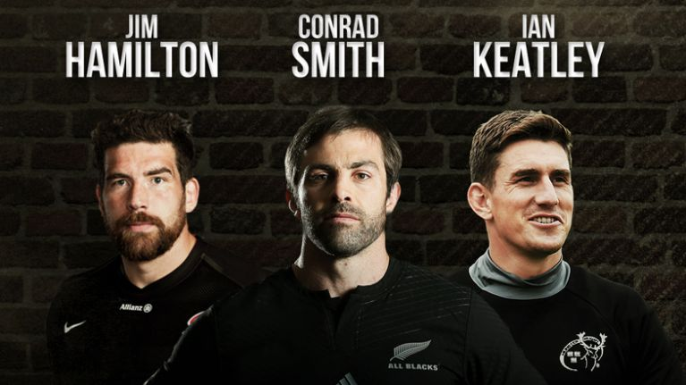 Jim Hamilton, Conrad Smith and Ian Keatley on The Hard Yards