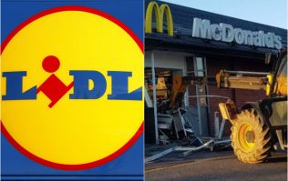 Lidl responds to McDonald's JCB incident in best possible way