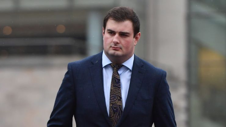 "Man accused of covering up Paddy Jackson rape allegation is ""not a weasel"" but a ""decent guy"", court hears"