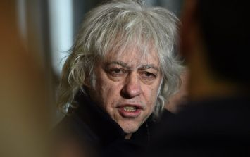 """""""I don't want to be associated with this pig."""" Bob Geldof talks Freedom of Dublin on Good Friday's Late Late Show"""