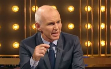 WATCH: Ray D'Arcy Show audience member steals the spotlight by imitating the host
