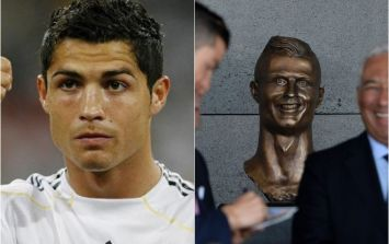 The sculptor who created that Cristiano Ronaldo bust has had a second attempt