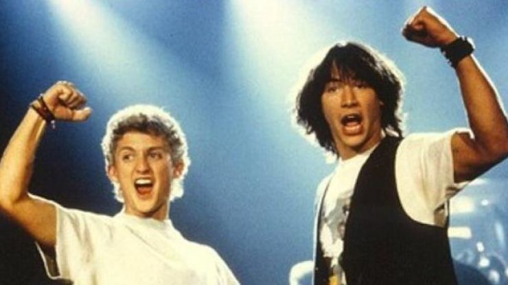 Excellent! That new Bill & Ted movie looks like it's finally happening