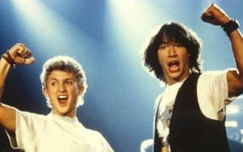 Bill & Ted star speaks out about use of homophobic slur in the original movies