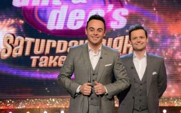 Fans react in shock to Dec's first solo Saturday Night Takeaway show