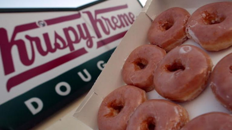 Krispy Kreme doughnuts can now be delivered right to your door