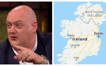 Dara Ó Briain absolutely nails the ignorance of some British people over the border and Brexit