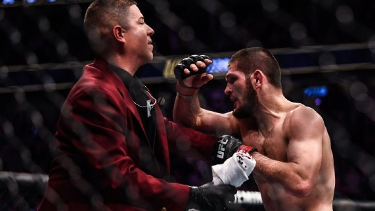 Here's why Khabib absolutely lost the plot at the end of the McGregor fight