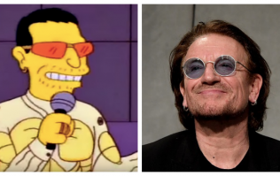 Bono was a bit of an arse when he made that famous cameo in The Simpsons