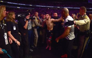 WATCH: Khabib teammate who slapped Conor McGregor after fight speaks out
