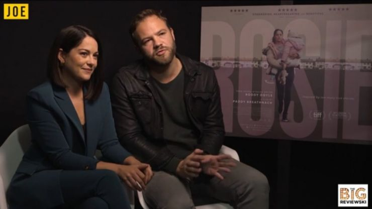 Sarah Greene and Moe Dunford discuss the powerful stories behind their new movie Rosie