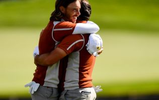 WATCH: Fleetwood and Molinari continue Ryder Cup bromance after waking up in bed with the trophy