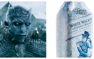 Johnnie Walker have launched a White Walker whiskey for Game of Thrones fans