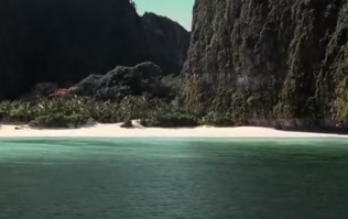 A popular Thailand beach has been forced to close due to tourism