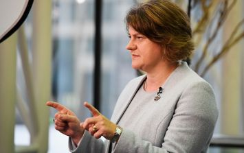 "DUP leader Arlene Foster tells interviewer her line on the Irish border is ""blood red"""