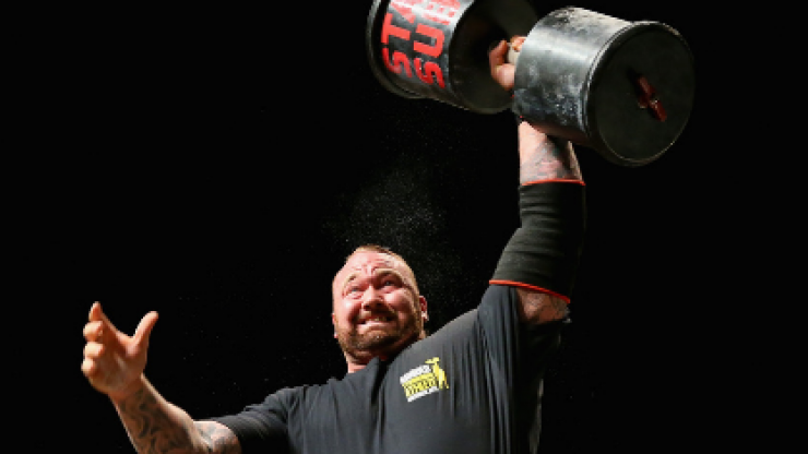 'The Mountain' Hafthor Bjornsson's brutal strength circuit