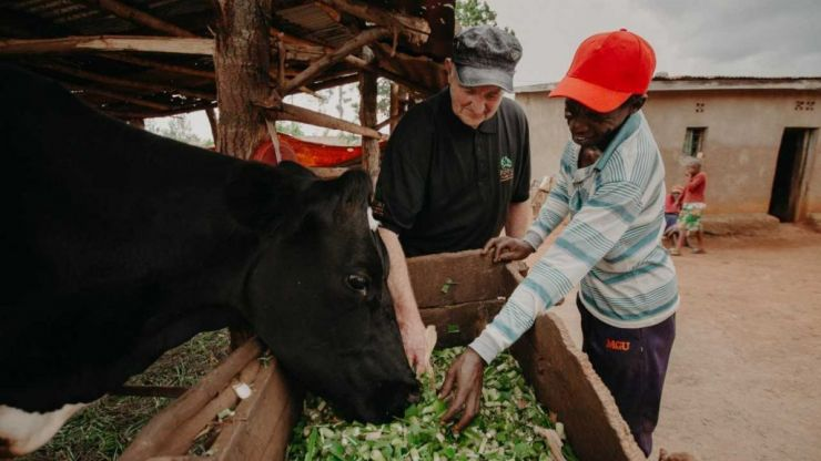 Kerry farmer donates his last dairy cow to Rwandan family and it has helped to change lives