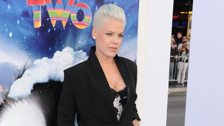 Pink announces Dublin gig at the RDS next summer