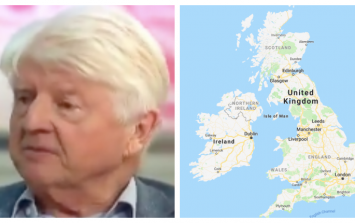 Boris Johnson's father has another disgusting and horrendous view on the border issue