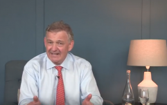 After taking a day off, Peter Casey has decided he's still running for President