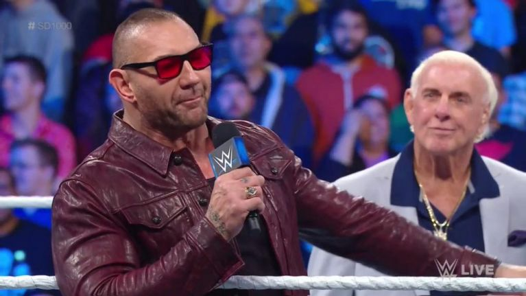 Batista, Rey Mysterio and The Undertaker all returned to ...