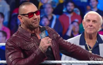 Batista, Rey Mysterio and The Undertaker all returned to WWE for Smackdown 1000