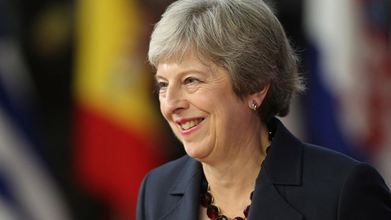 "Theresa May has reportedly secured a ""secret deal"" with EU that will avoid hard Irish border"