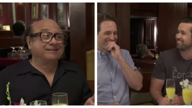 The bloopers and outtakes from the last few Always Sunny seasons are absolute gold