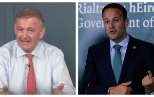 Leo Varadkar has heavily criticised Peter Casey's comments about Travellers