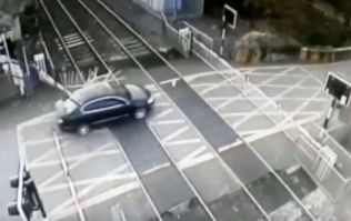 WATCH: Motorist drives through level crossing in Dublin, causing huge delays on several routes