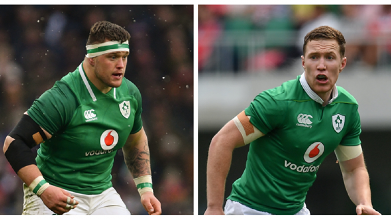 Rugby stars Andrew Porter & Rory O'Loughlin on how excercise can fight cancer
