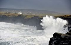 "Met Éireann upgrade weather warning due to ""possibly violent storm 11 winds"" off Irish coasts"