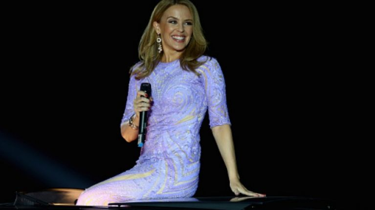 Kylie Minogue has announced the rescheduled dates for her Irish gigs