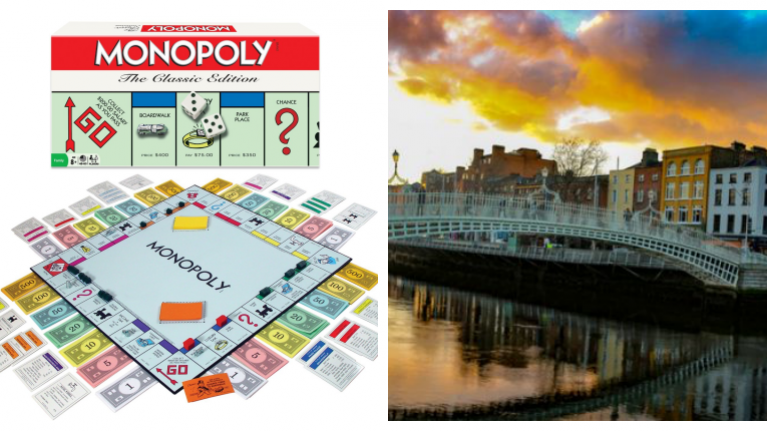 Dublin is getting a brand new version of Monopoly and the cheapest location has been revealed