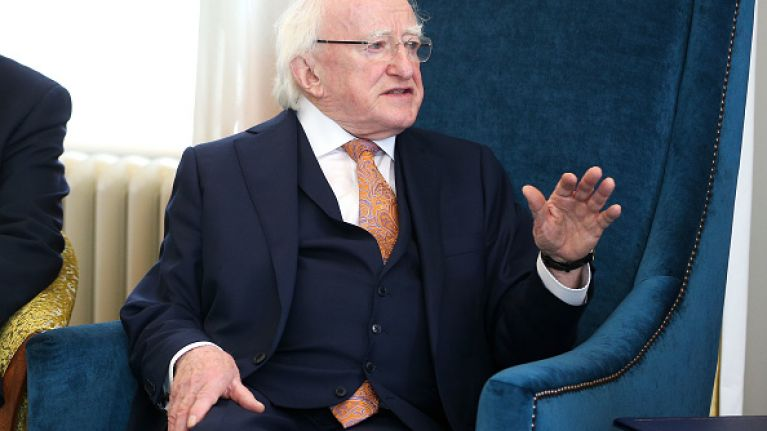 Once Michael D Higgins is done, it's time to abolish the presidency