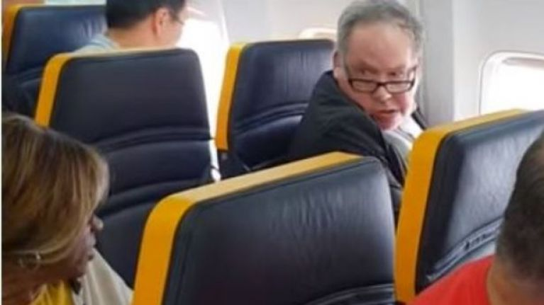 Ryanair plane incident: Passenger denies he's a racist and tries to explain his horrific rant