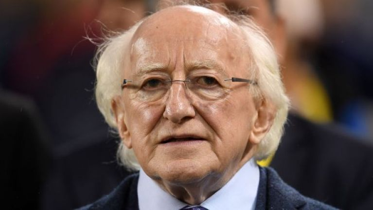 OFFICIAL: Michael D. Higgins has been re-elected President of Ireland