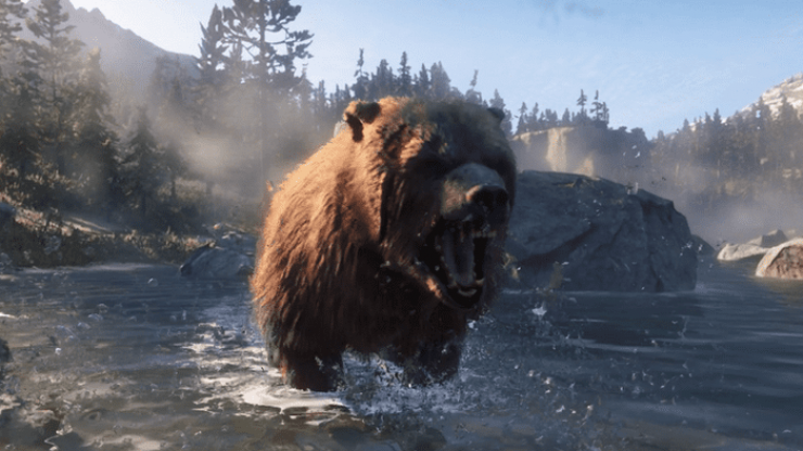Red Dead Redemption II's bear attacks are terrifying in first person mode