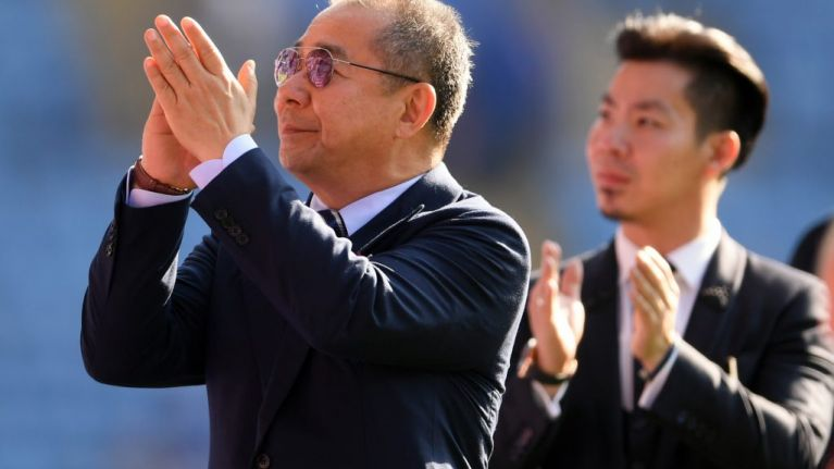Leicester City owner Vichai Srivaddhanaprabha was 'on board' crashed helicopter