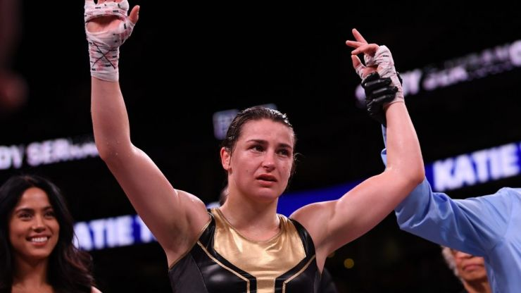 Katie Taylor has absolutely no time for KSI and Logan Paul as they headline boxing event