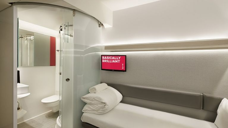 Major hotel chain unveils 'pod-style' hotel rooms, available for under €25 per night